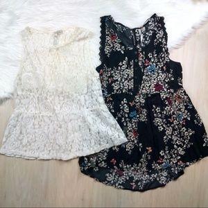 LC Lauren Conrad Shirts - Bundle of 2 - Size Small